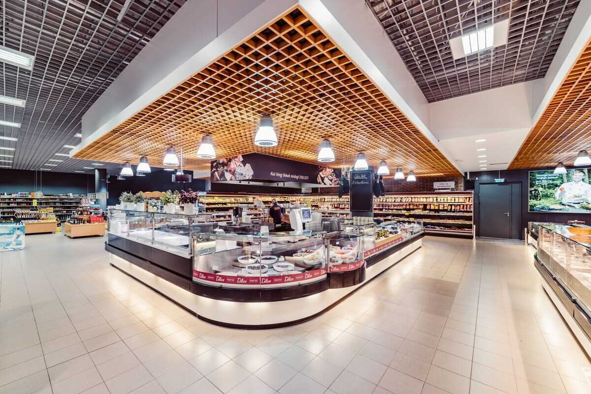led lamp, led valgustus, led lighting, Solaris foodstore