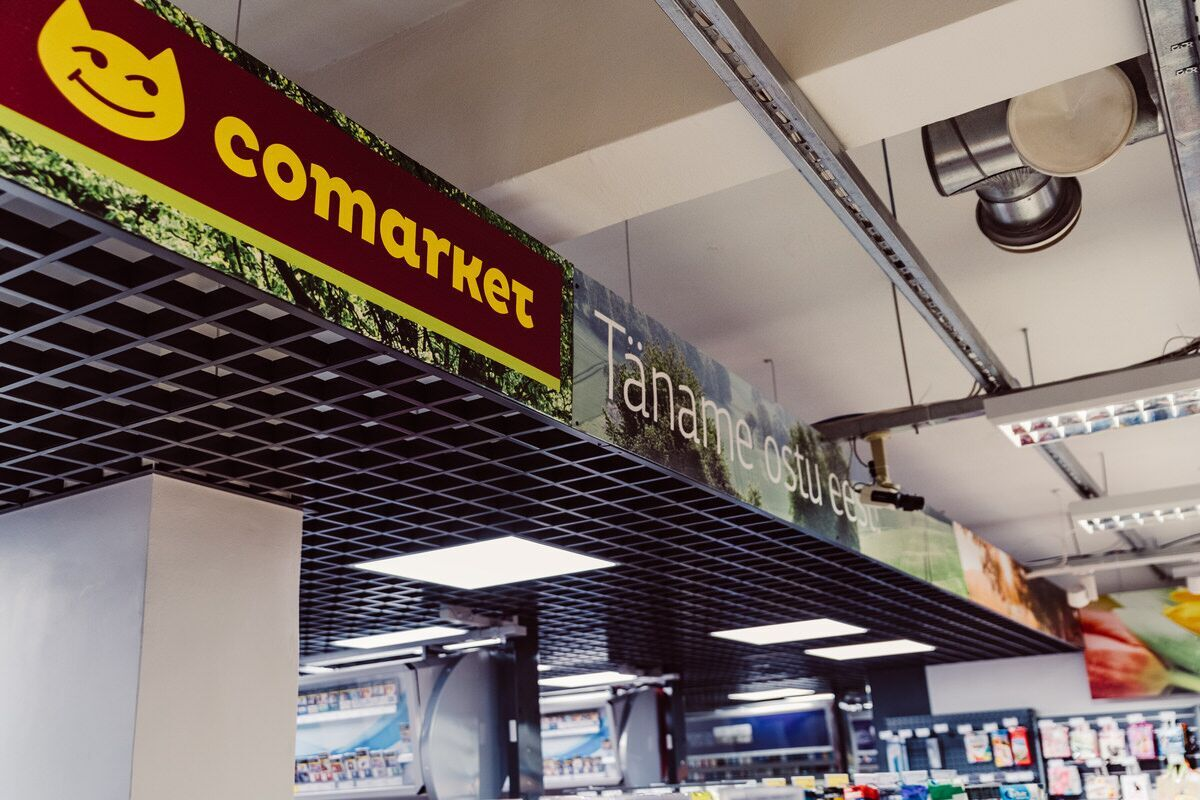 led valgustus, led lambid, led lighting in comarket foodstore